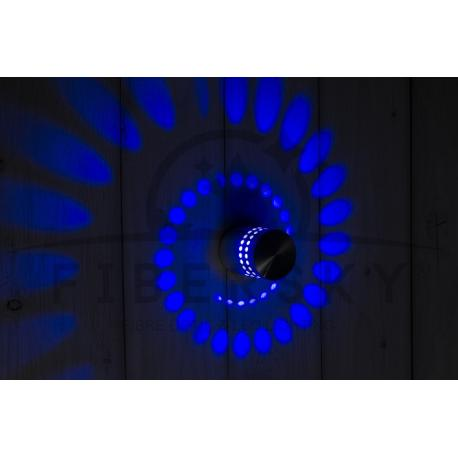 KINKIET LED HELIX BLUE 3W