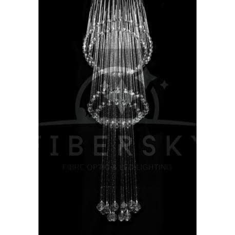 Żyrandol światłowodowy KASKADA 1,5m