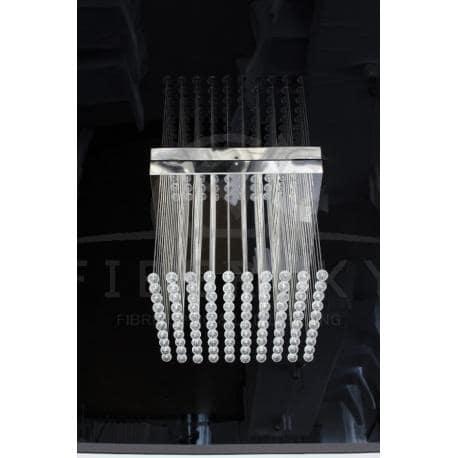 Żyrandol światłowodowy CUBE