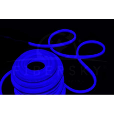 LED NEON FLEX niebieski 1m 80led
