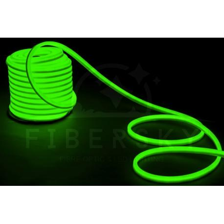 LED NEON FLEX zielony 1m 80led