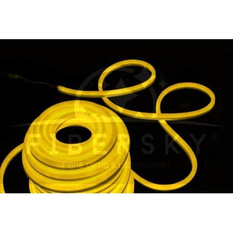 LED NEON FLEX żółty 1m 80led