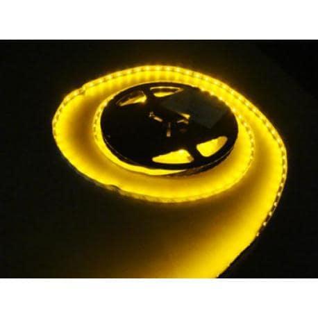 Taśma 300 LED 3528 IP44 żółta 5m