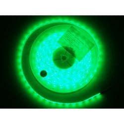 Taśma 300 LED 3528 IP65 zielona 5m