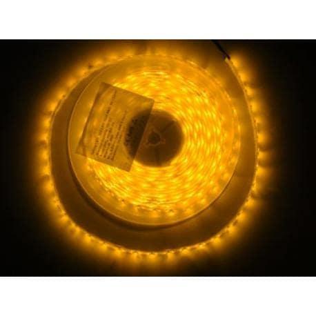 Taśma 300 LED 3528 IP65 żółta 5m