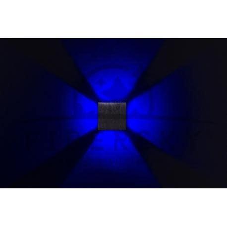 KINKIET LED KWADRAT ALL SIDES BLUE