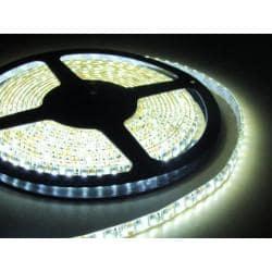 Taśma 600 LED 3528 IP65 biała zimna 5m