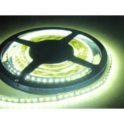 Taśma 600 LED 3528 IP33 biała zimna 5m