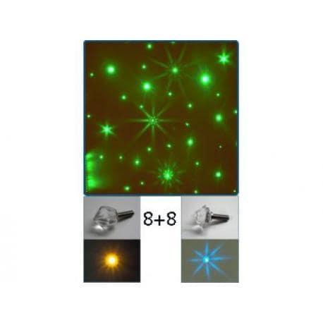 KATHARSIS - kryształowe gwiazdy 16 sztuk A.20003
