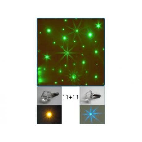 SAFONA - kryształowe gwiazdy 22 sztuki A.20004