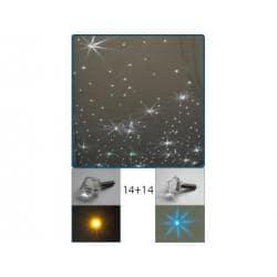 POSEJDON - kryształowe gwiazdy 34 sztuki A.20006