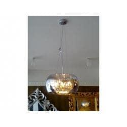 LAMPA WISZĄCA 40 CM CRYSTAL