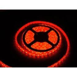 Taśma 300 LED 5050 IP44 czerwona 5m 1050lm